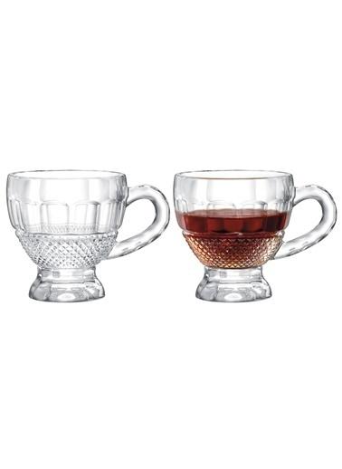 Madame Coco Perren 4'lü Çay Fincanı Renkli
